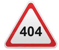 404 - Не найдено